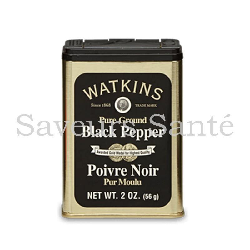 Poivre noir watkins 56 gr
