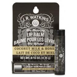 Baume pour les lèvres Lait de coco et miel