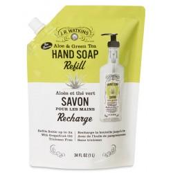 Recharge savon  liquide pour mains aloès