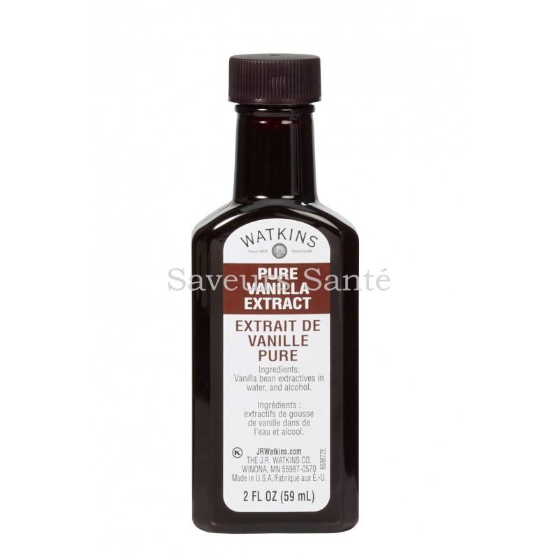 Extrait de vanille pure Bourbon de Madagascar - certifié biologique USDA