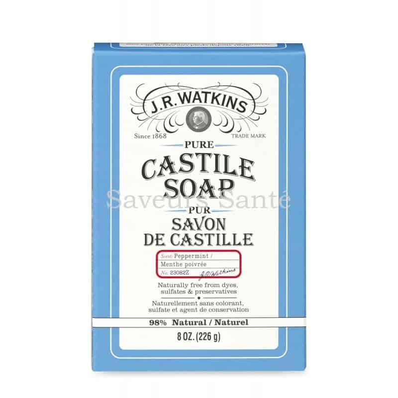 savon de castille Menthe poivrée