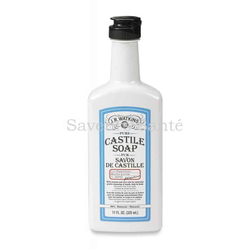 Castile Liquid Hand Soap peppermint