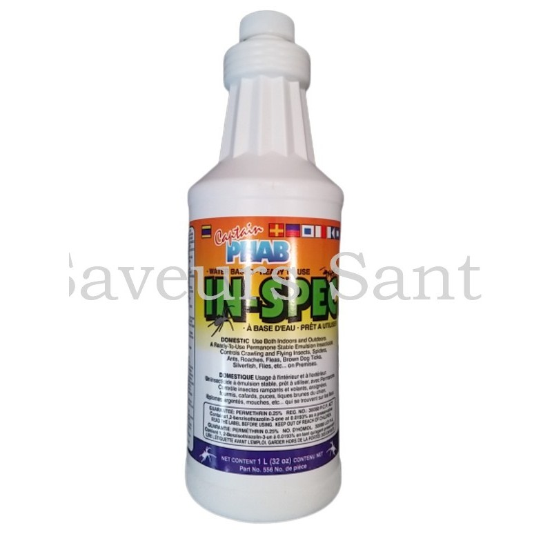 Insecticide Bug-Tek  750 ML