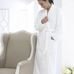 Robe de chambre blanche Éponge