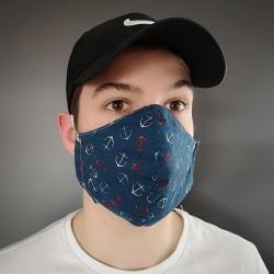 masque tissu réutilisable  Fabriqué au Québec