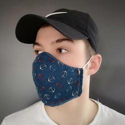 masque tissus lavable  Fabriqué au Québec