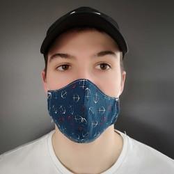 Masque fait de tissu Fabriqué au Québec
