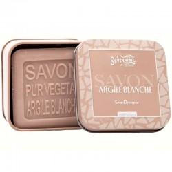 Savon artisanal argile blanche antiseptique 100g