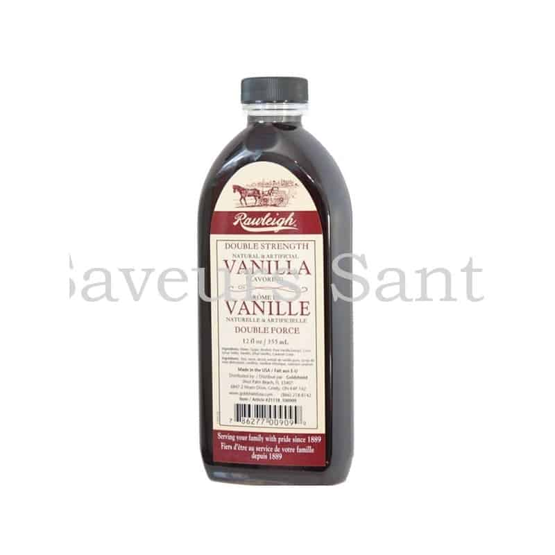 Vanille double force Rawleigh  360 ml