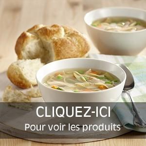 Préparations de Soupes et sauces